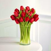 тюльпаны в стекле