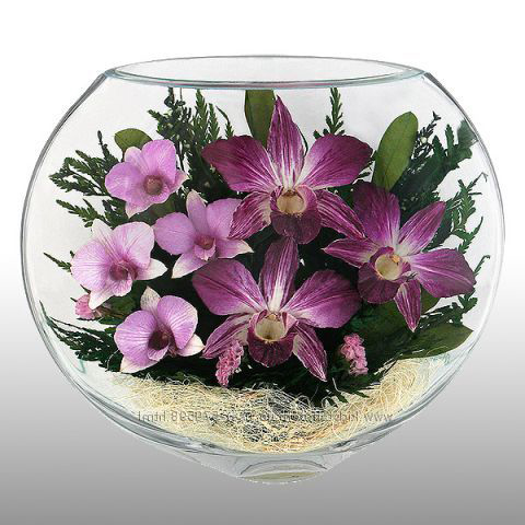 Лилии в стекле_фото 2