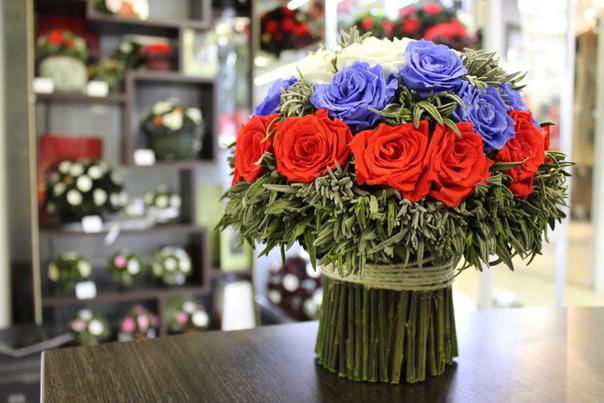Стабилизированные цветы в домашних условиях