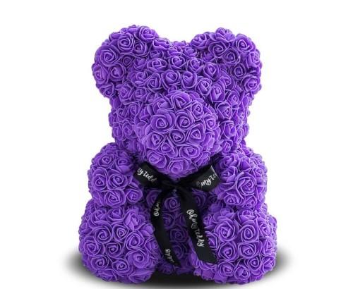 Медведь из фиолетовых
