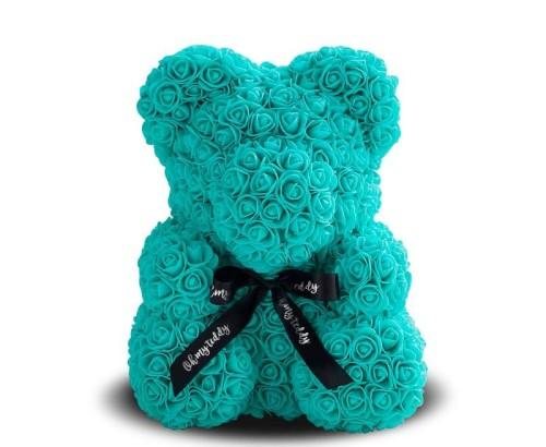 Медведь из роз тиффани